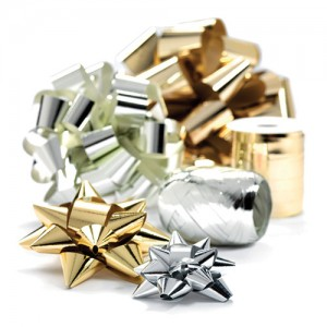 Metallic Bows and Cobs in a range of colours