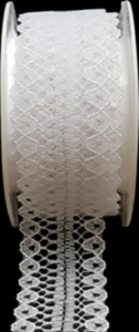 Ribbons - Lace White
