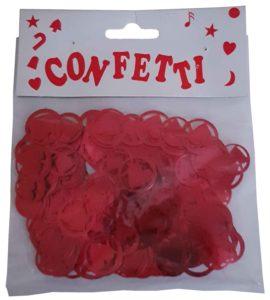 Confetti – Hearts Double Red 16g