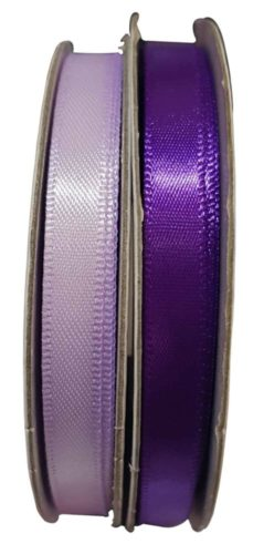 Ribbon - Satin Plain Orchid and Purple